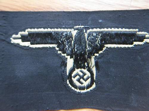 """Another SS """"Bevo"""" sleeve eagle for review"""