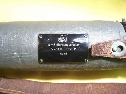 SS Totenkopf  Entfernungsmesser