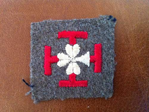 Need help identifying this patch