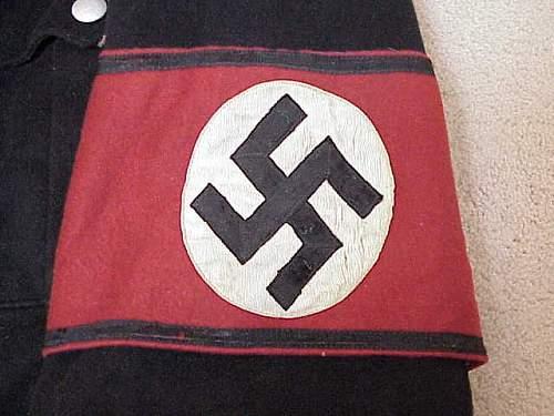 Click image for larger version.  Name:Kampfbinde Linzer Montur.jpg Views:78 Size:36.5 KB ID:193850