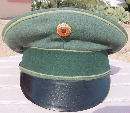 SS gebirgsjager officer cap