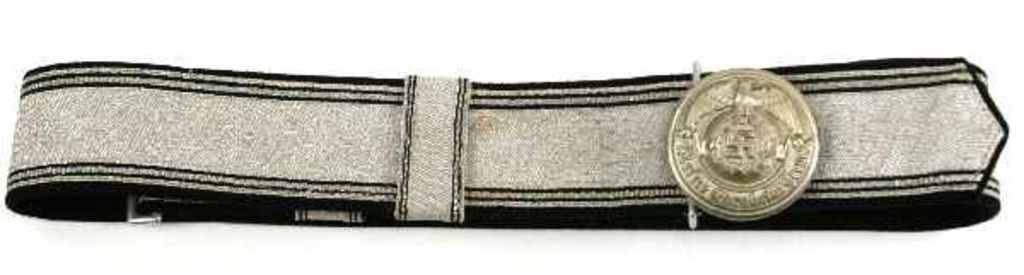 ss office brocade belt and buckle
