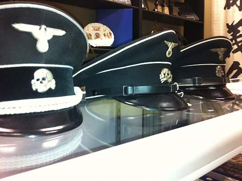 Ss officers cap..