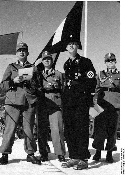 Polizei Skimeisterschaft, Kitzbuehel  1939...