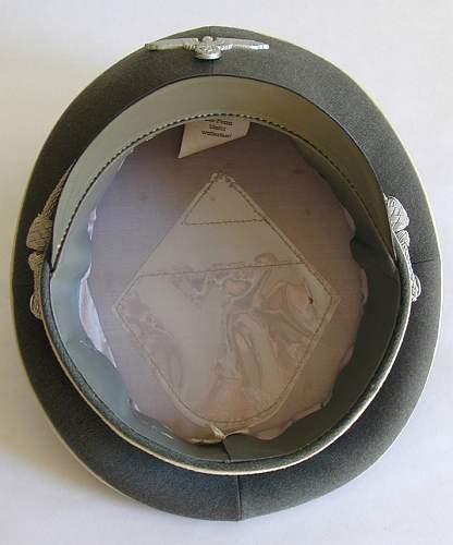 WSS EM Visor cap interior (Gray)