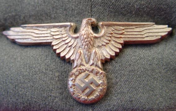 SS Hoheitszeichen/Schirmmuetze