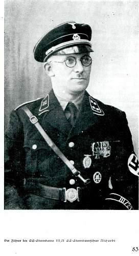 Black SS uniform at Gottleibs