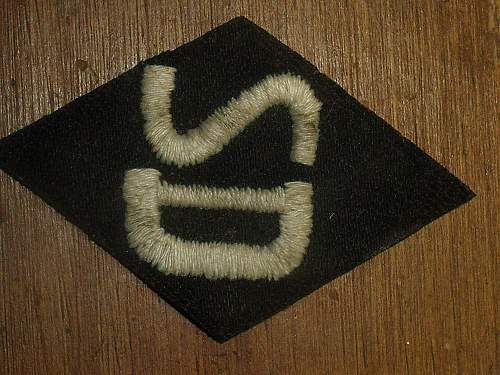 SD Officer sleeve patch