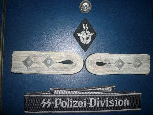 OPinions  on SS Polizei insignia please