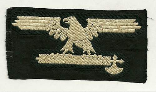 Help Please - SS sleeve eagles? Italian SS & German Real or Repro??