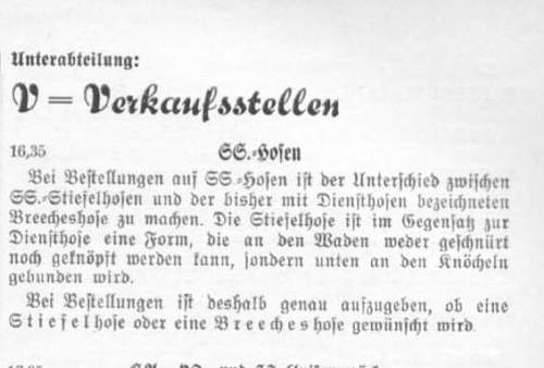 SS Wachverbaende 1935, introduction of insignia conditions.