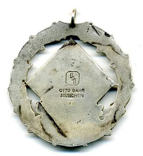 SS Shooting award