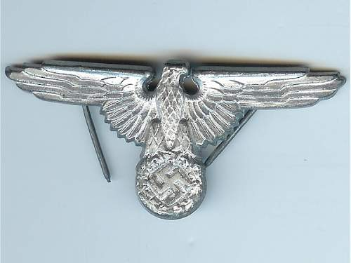 M1/167 Augustin Hicke cap eagle ............... real?
