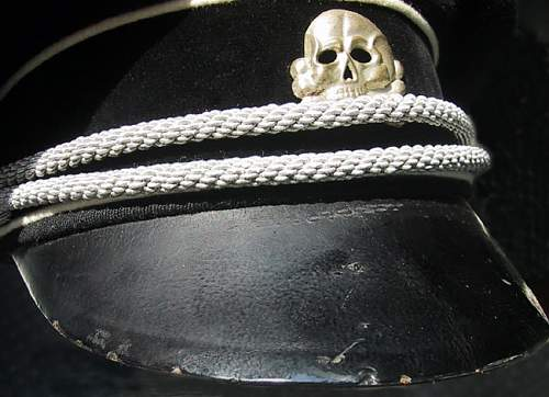 Allgemiene SS NCO Visor for Analysis