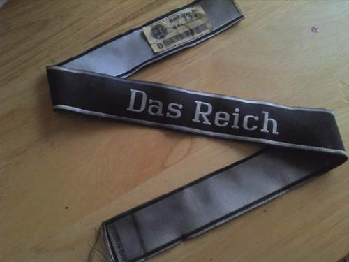 Das Reich Cuff Title BEVO Real or Fake?