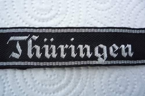 Thuringen Cufftitle