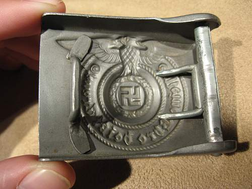 My first SS EM Buckle--For review.