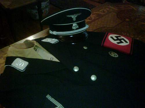 A piece of SS regalia in excellent preservation