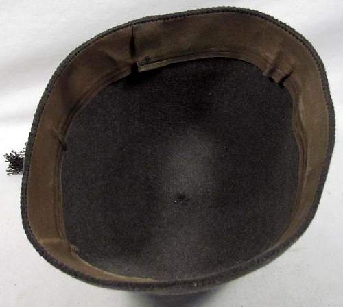 SS field green fez, looks fake to me?