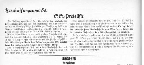 Click image for larger version.  Name:SS price list October 1934 general .jpg Views:53 Size:165.5 KB ID:238427