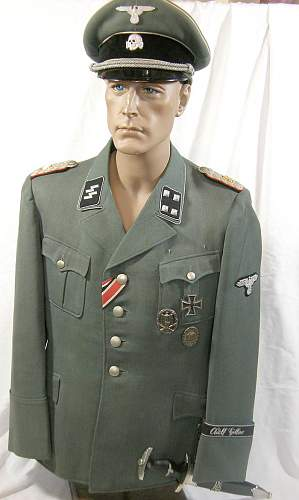 Ss panzer tunic question real or fake