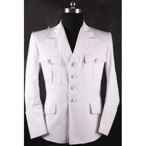 New hand asks questions:what white SS Single Breasted Officer Jacket use for?