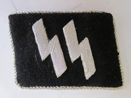 Runic Officer's Collar Tab