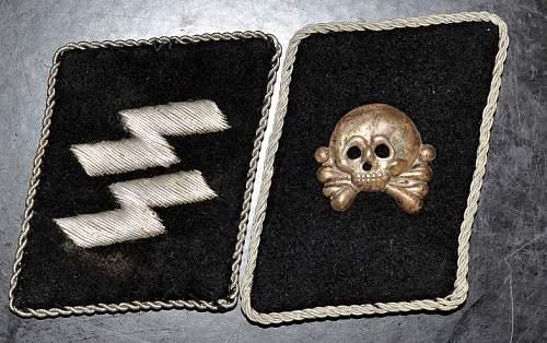 SS Collar Tabs Insignia  Real or Fake