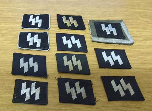 Show your favourite Waffen SS collar tabs