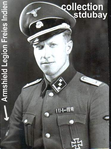 Click image for larger version.  Name:German officer in SS Uniform with Armshield o the Legion.jpg Views:2378 Size:46.4 KB ID:257765