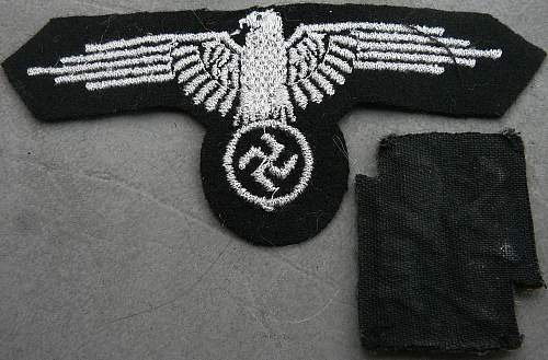 Sleeve Eagle and Lightning bolts?