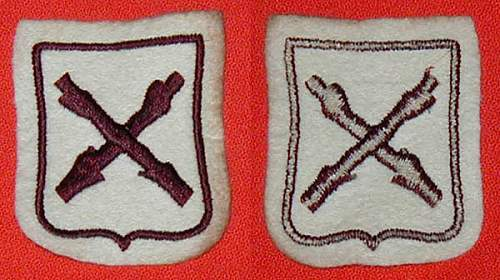 Walloon volunteer or Rex sleeve shield