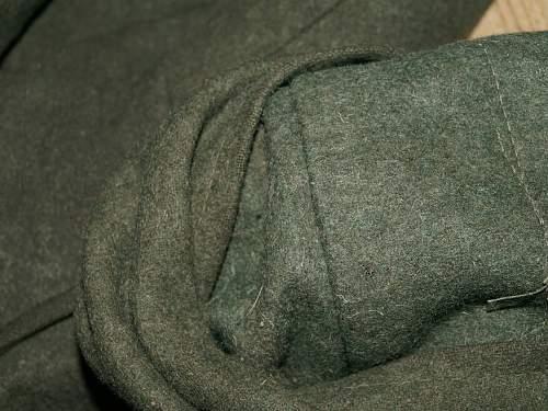 SS Dachau marked overcoat