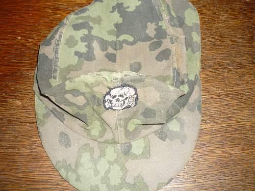 ss camo field cap (real/fake)