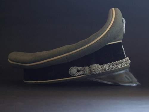 SS Kleiderkasse Officers visor