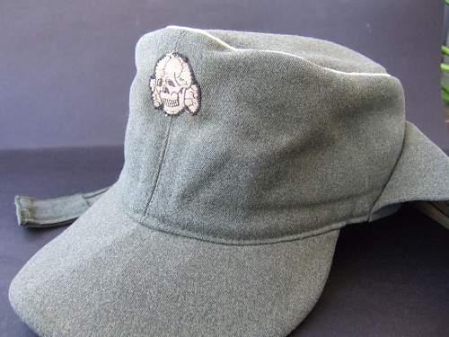 SS Officers M43 cap