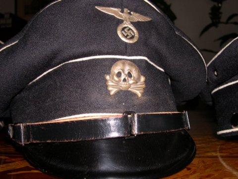 Colleague Peter's black cap