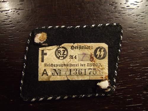 My latest flatwire collar tab