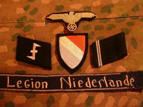 Early Dutch Legion insignia