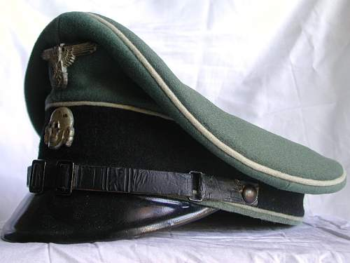 EM/Nco visor cap