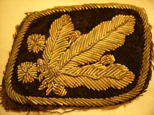 SS collar patches