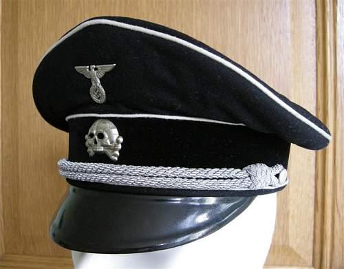 Officers Black Visor