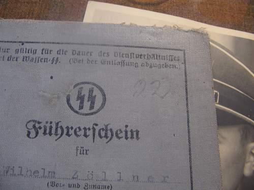 """Camouflage Album from NCO """"das Reich"""""""