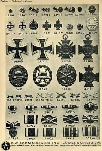 Click image for larger version.  Name:Assmann_1937_catalog_navy_Wound_Badge_page.jpg Views:19 Size:126.9 KB ID:279299