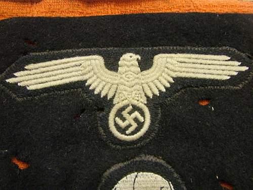 SS Pz Beret insignia