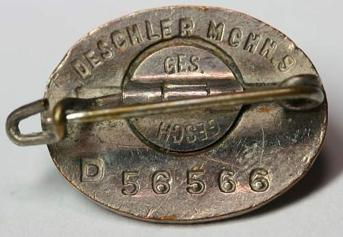 SS-FM Patron Pin