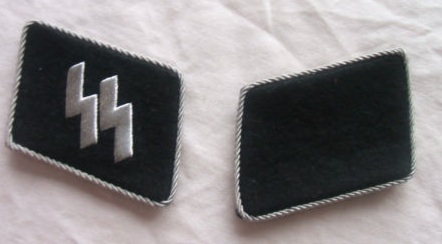 SS Collar tabs, opinions please.