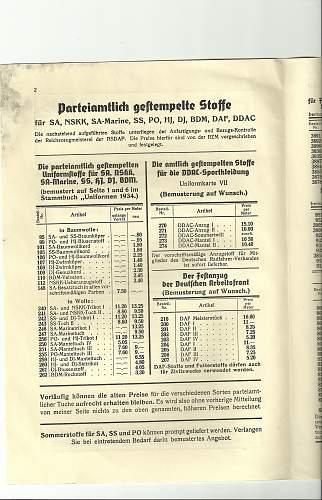 grey SS cap ca. 1938/9