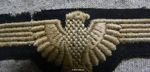 Need Help! SS embroidered sleeve eagle