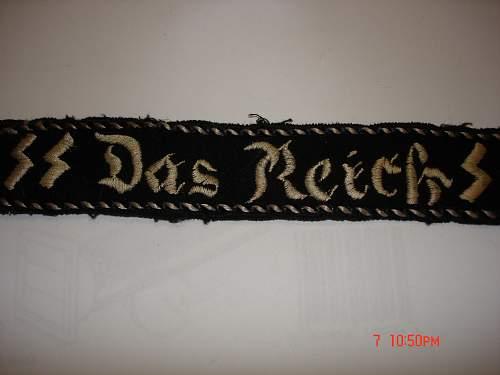 Adolf Hitler Cuff Title